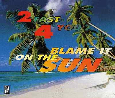 2 fast 4 you - Blame it on the sun.jpg